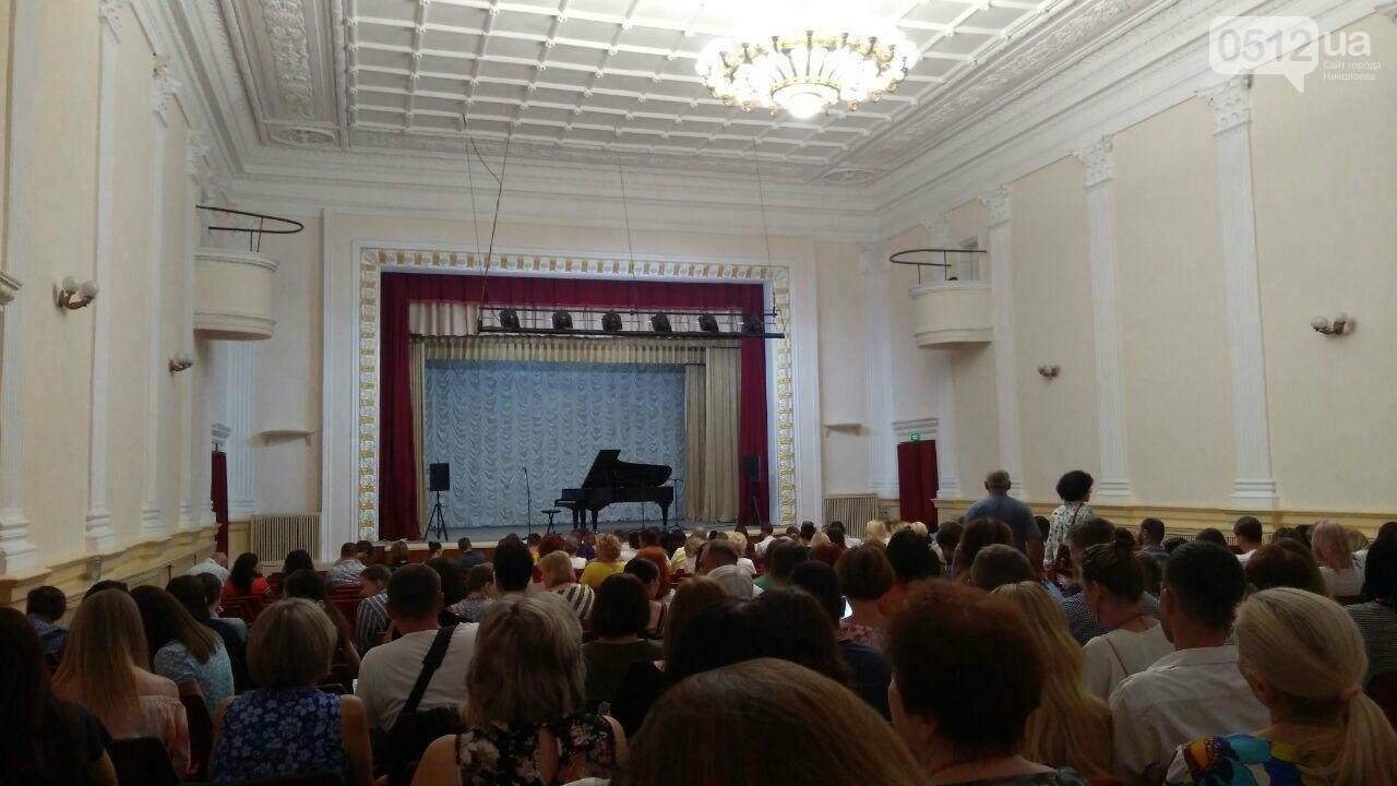 В Николаеве состоялся концерт самого быстрого пианиста в мире Любомира Мельника , фото-2