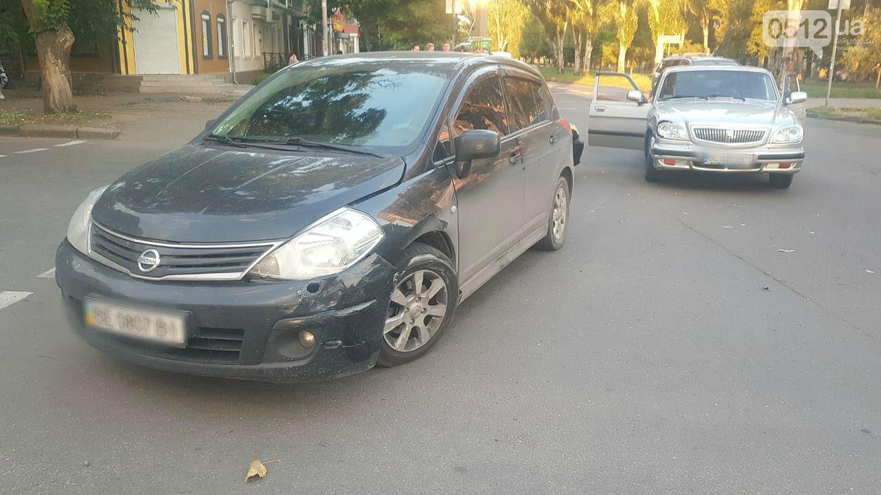 В Николаеве «Волга» протаранила «Nissan», - ФОТО, ВИДЕО, фото-2