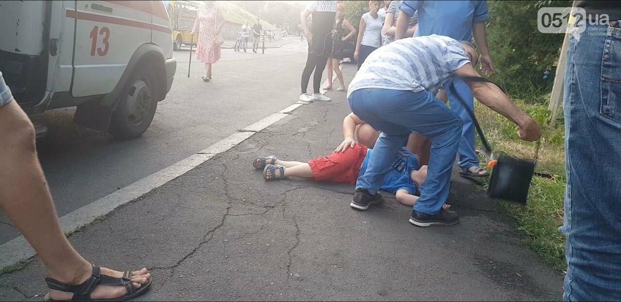 В Николаеве на спуске с верхнего БАМа ребенок упал с самоката,- ФОТО, ВИДЕО, фото-3