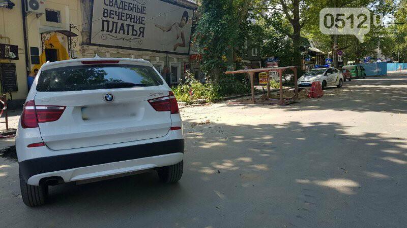 В центре Николаева автомобиль провалился в яму, - ФОТО, ВИДЕО, фото-7