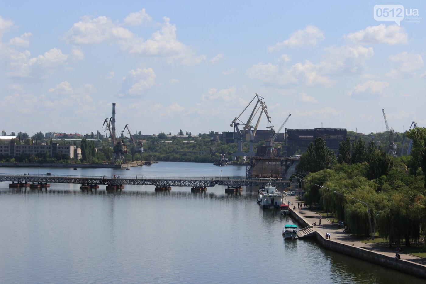 В Николаеве разводку мостов перенесли на завтра, - ФОТО, фото-2