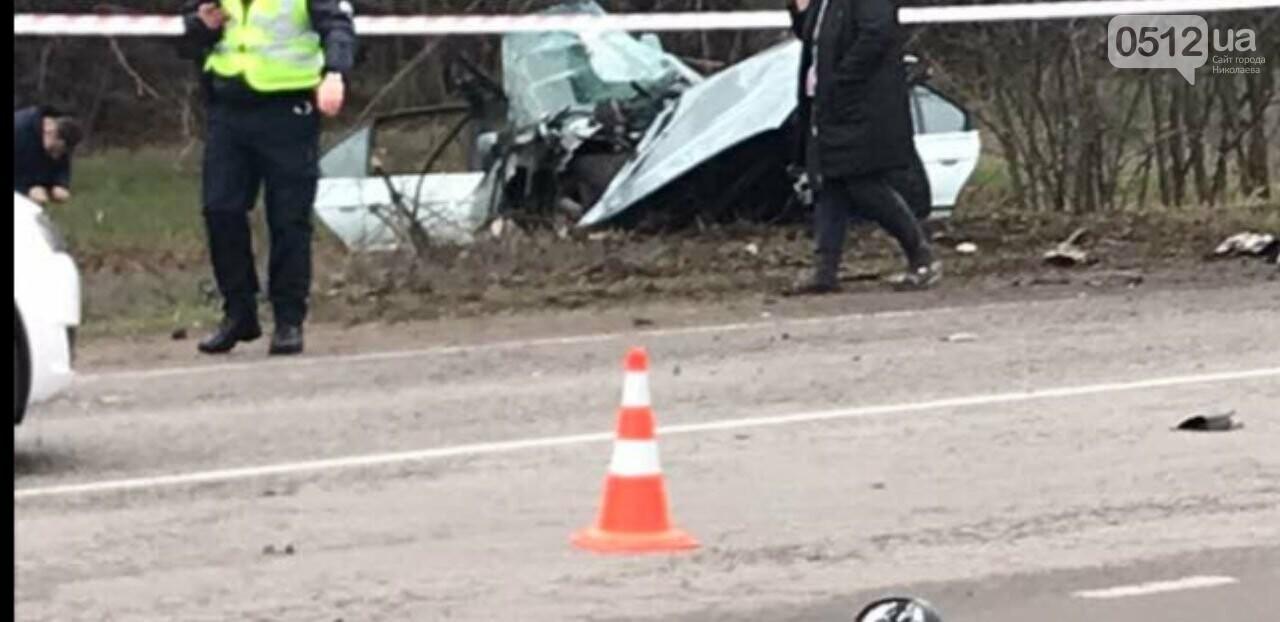 "На Николаевщине ""BMW"" ""влетел"" в дерево: водитель погиб на месте, - ФОТО, фото-3"