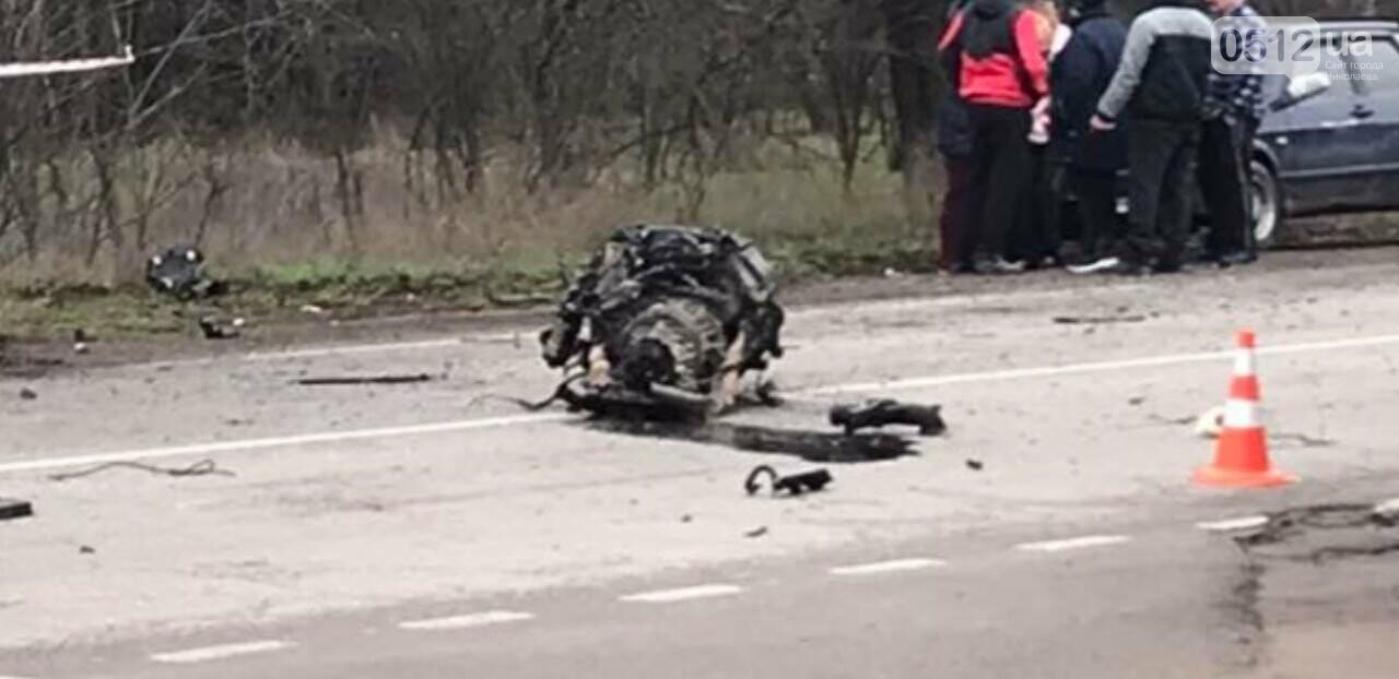 "На Николаевщине ""BMW"" ""влетел"" в дерево: водитель погиб на месте, - ФОТО, фото-4"