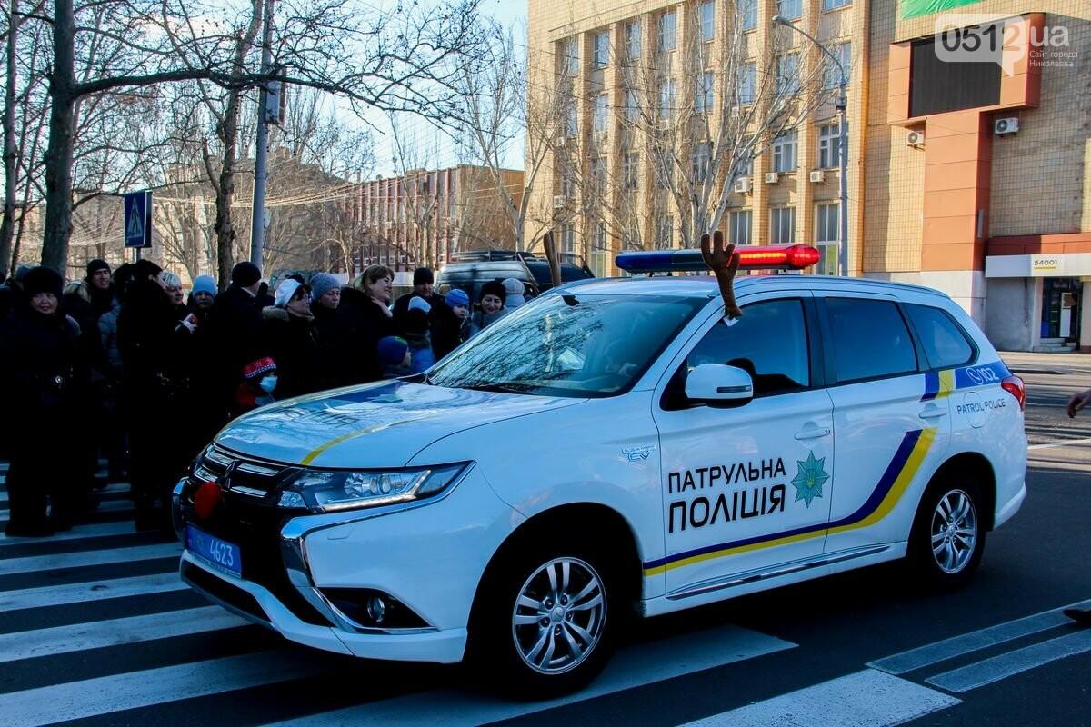 Николаевские патрульные традиционно отметили Рождество с горожанами, - ФОТОРЕПОРТАЖ, фото-2