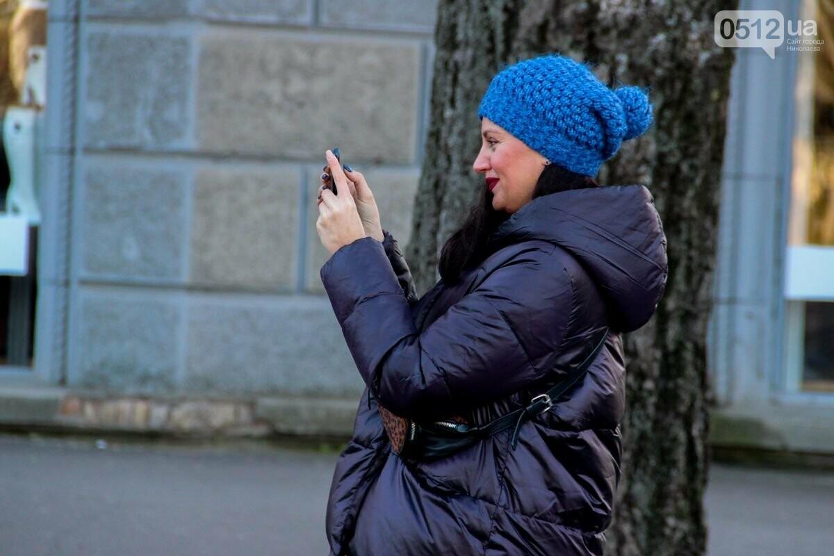 Николаевские патрульные традиционно отметили Рождество с горожанами, - ФОТОРЕПОРТАЖ, фото-4