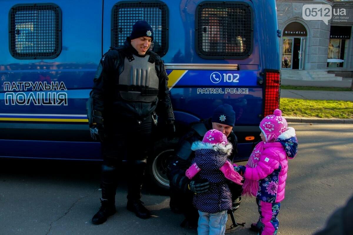 Николаевские патрульные традиционно отметили Рождество с горожанами, - ФОТОРЕПОРТАЖ, фото-19