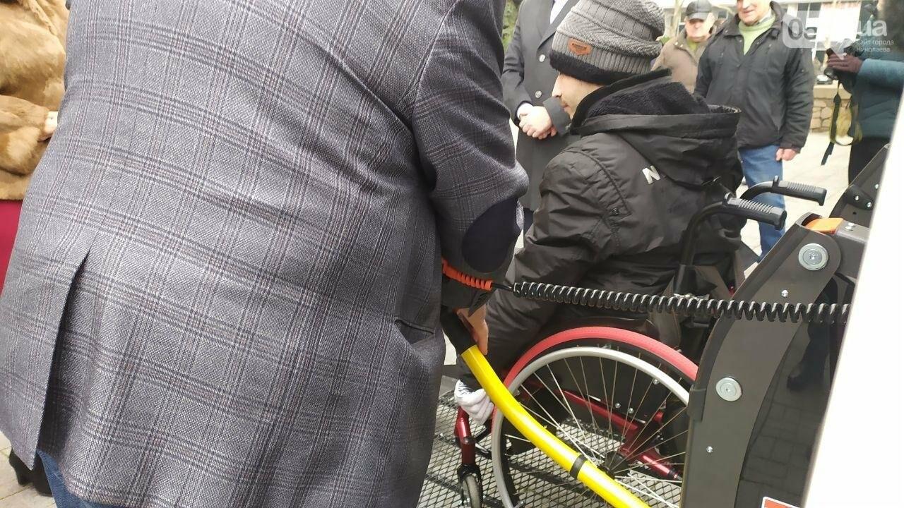 Четырем николаевским общинам передали спецавтомобили для людей с инвалидностью, - ФОТО, фото-10