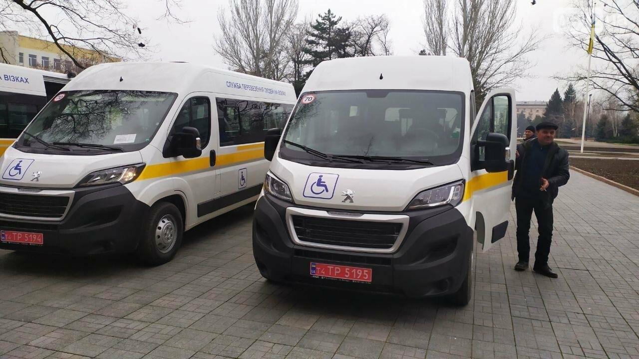 Четырем николаевским общинам передали спецавтомобили для людей с инвалидностью, - ФОТО, фото-12