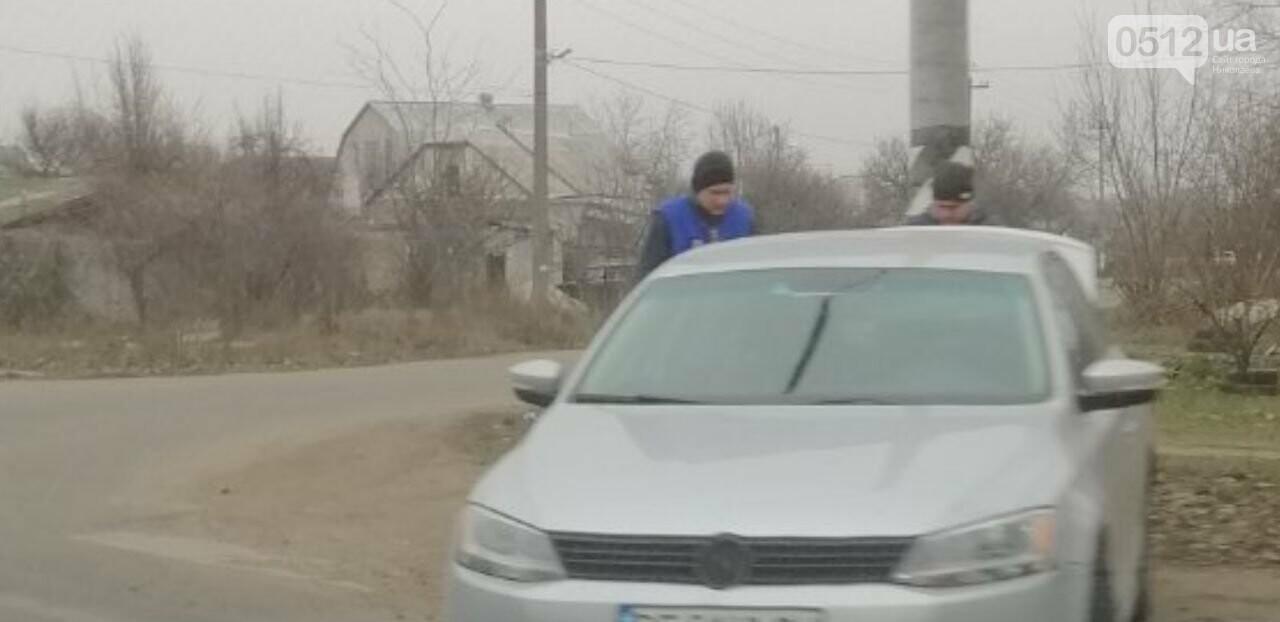 В Николаеве на перегоне Daewoo влетел в Volkswagen, - ФОТО, фото-1
