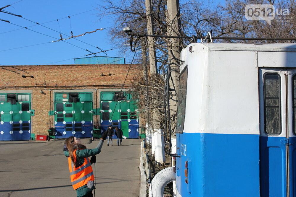 Как и чем живет троллейбусное депо в Николаеве, - ФОТОРЕПОРТАЖ, фото-4