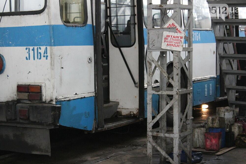 Как и чем живет троллейбусное депо в Николаеве, - ФОТОРЕПОРТАЖ, фото-5
