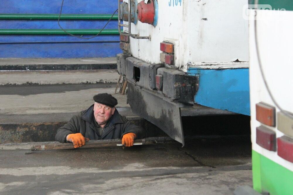 Как и чем живет троллейбусное депо в Николаеве, - ФОТОРЕПОРТАЖ, фото-10