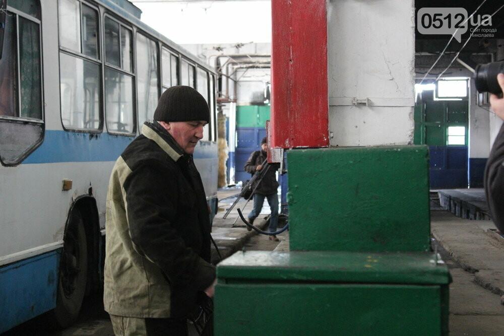Как и чем живет троллейбусное депо в Николаеве, - ФОТОРЕПОРТАЖ, фото-6