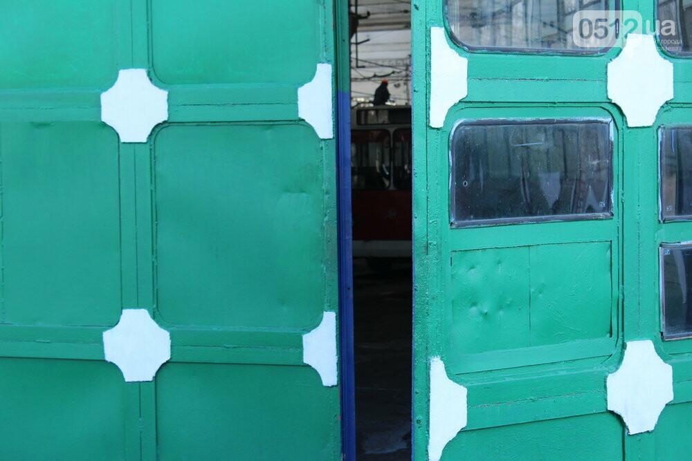 Как и чем живет троллейбусное депо в Николаеве, - ФОТОРЕПОРТАЖ, фото-15