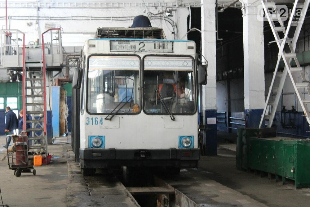Как и чем живет троллейбусное депо в Николаеве, - ФОТОРЕПОРТАЖ, фото-23