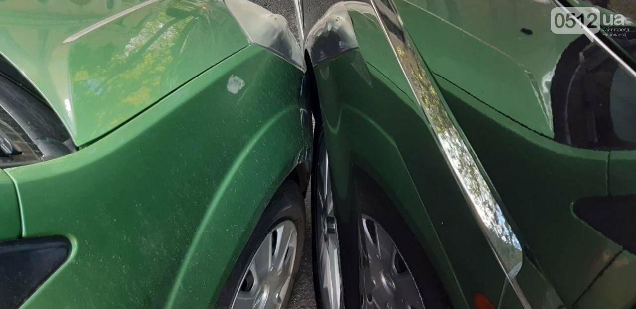 В центре николаева Ford врезался в микроавтобус Volkswagen, - ФОТО, фото-2