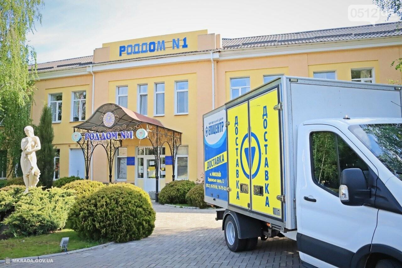 Медичні працівники Миколаєва та області отримали партію благодійної допомоги від мережі «Епіцентр» для запобігання поширенню COVID-19 , фото-1