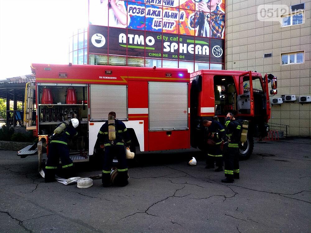 """""""Внимание! Пожар в """"Сити - Центре"""": николаевские спасатели провели тактико-специальные учения - ФОТОРЕПОРТАЖ, фото-7"""