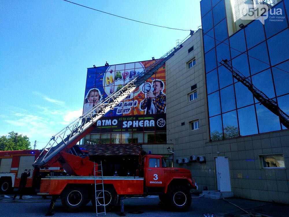 """""""Внимание! Пожар в """"Сити - Центре"""": николаевские спасатели провели тактико-специальные учения - ФОТОРЕПОРТАЖ, фото-19"""