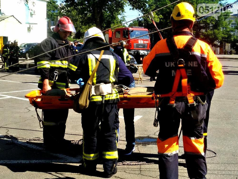 """""""Внимание! Пожар в """"Сити - Центре"""": николаевские спасатели провели тактико-специальные учения - ФОТОРЕПОРТАЖ, фото-29"""