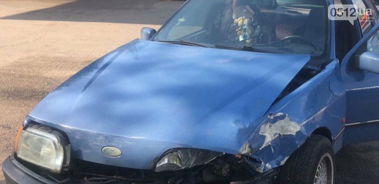 В Николаеве на перекрестке Ford врезался в Honda, - ФОТО, фото-1