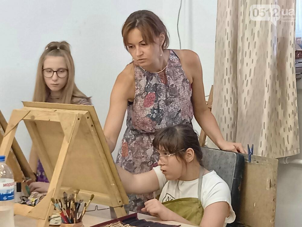 Искусство, арт-терапия и инклюзия: как в Николаеве объединили все в одной студии, - ФОТО, фото-10
