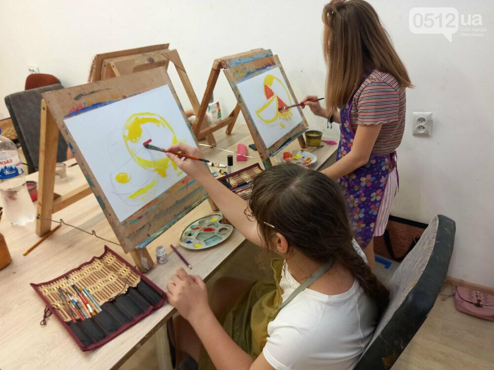 Искусство, арт-терапия и инклюзия: как в Николаеве объединили все в одной студии, - ФОТО, фото-11