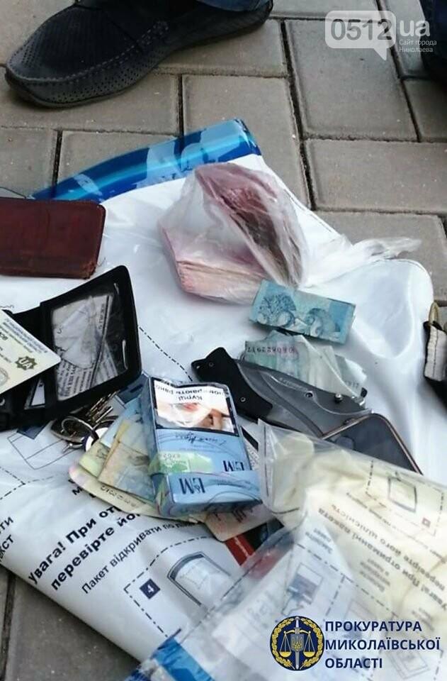 В Николаеве сотрудника полиции задержали по подозрению во взяточничестве, - ФОТО, фото-1
