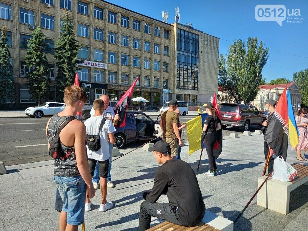 В Николаеве прошел автопробег, посвященный Дню независимости Украины, - ФОТО, фото-3