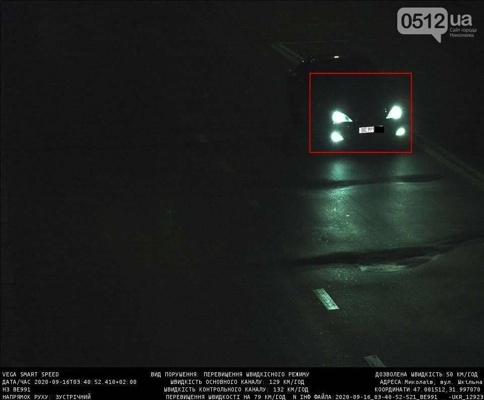 В Николаеве камера, установленная на ПГУ, зафиксировала 482 нарушения скоростного режима, - ФОТО, фото-1