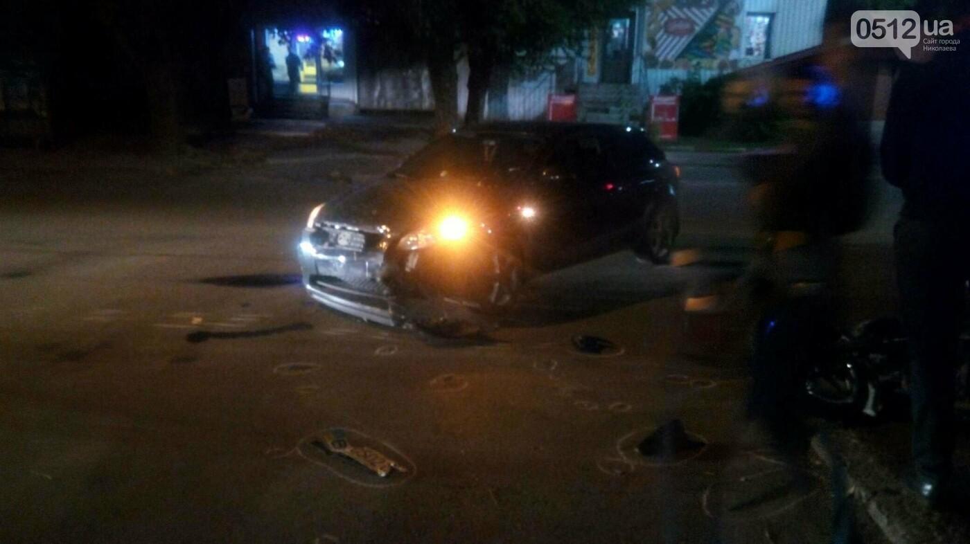 В Николаеве мотоциклист врезался в иномарку, - ФОТО, фото-2