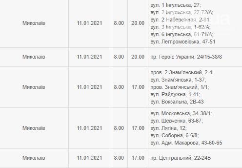 По Николаеву утвержден график ремонтных работ - обесточивание будет минимальным, - АДРЕСА, фото-1
