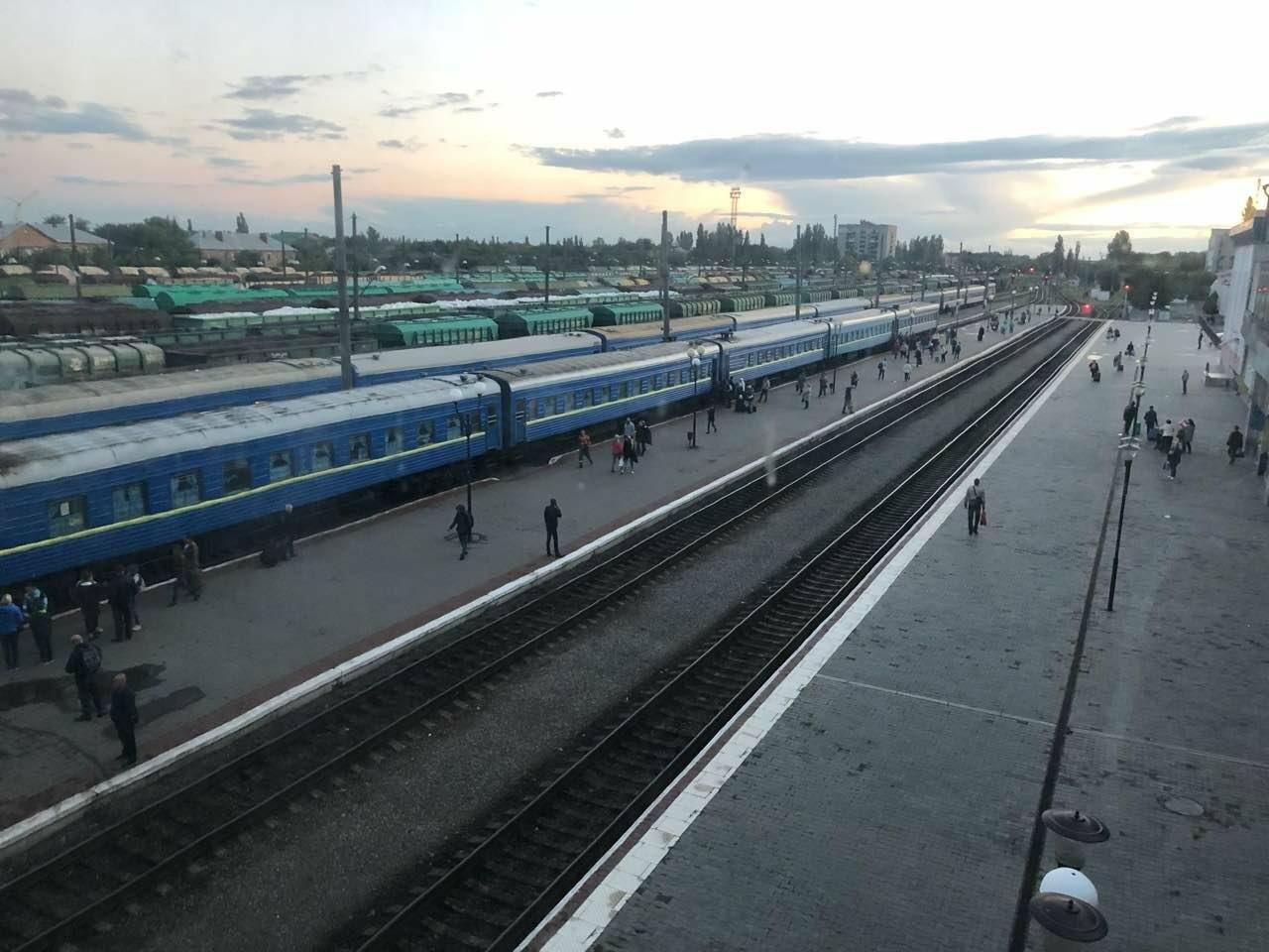 жд вокзал в Николаеве