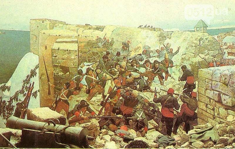 Штурм крепости Очаков