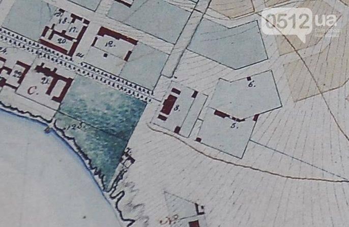карта водопровода в 1830 году
