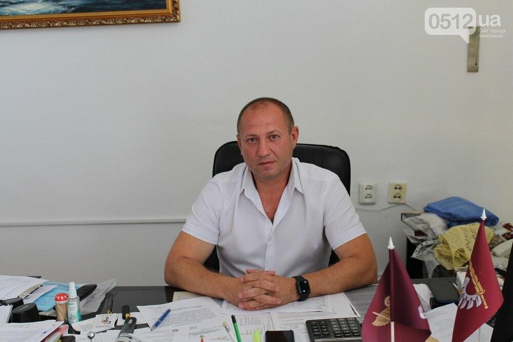 Начальник управления по делам ветеранов Ю. Степанец