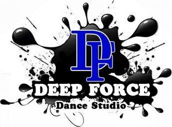 Логотип - Deep force, студия современного танца