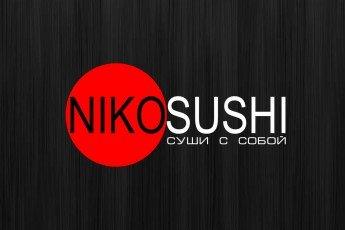 Логотип - Niko Sushi, японские блюда: суши, роллы, гункан в Николаеве