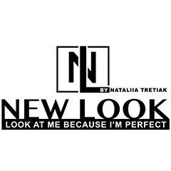 Логотип - Салон красоты New Look by Tretiak Natalia