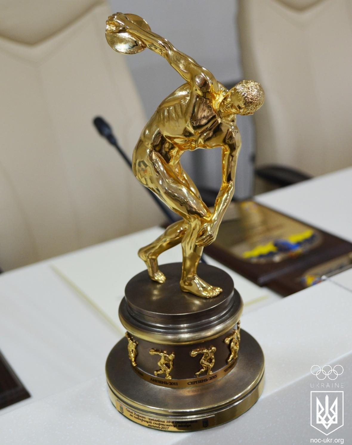 Николаевская спортсменка Ольга Харлан получила от НОК эксклюзивную статуэтку (ФОТО), фото-5