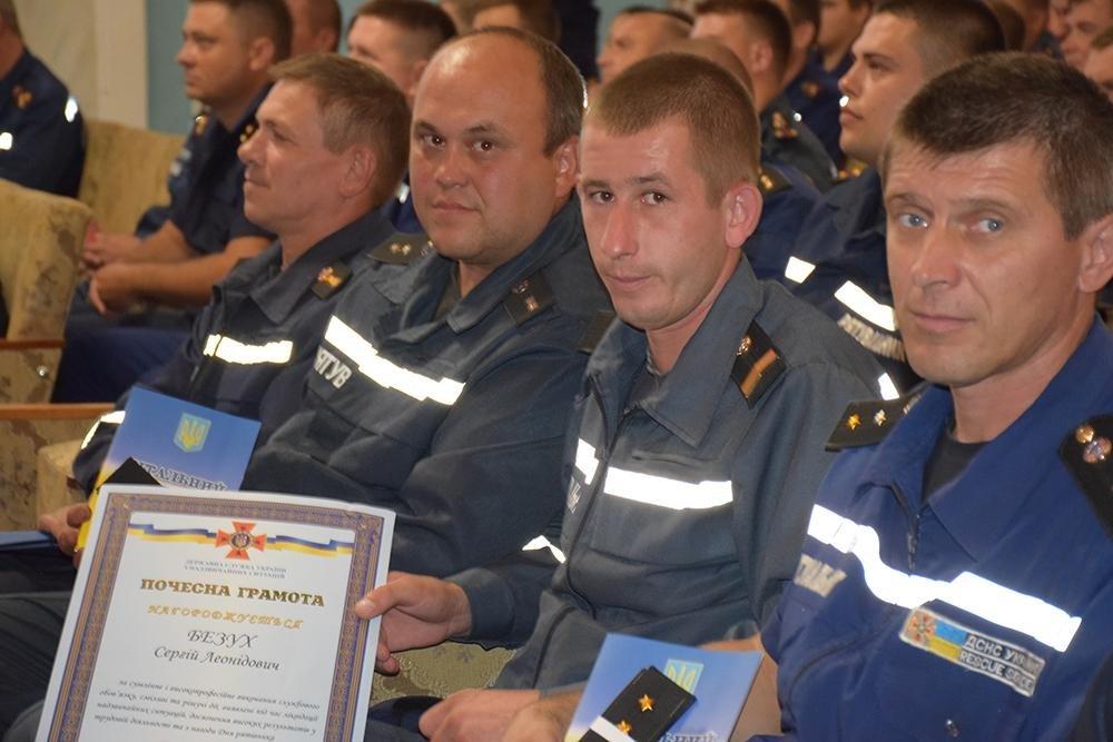 Николаевские спасатели отметили свой профессиональный праздник (ФОТО) , фото-1