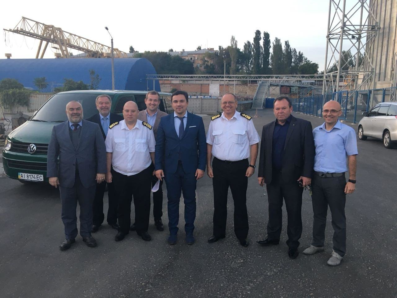 Заместитель министра инфраструктуры Украины посетил Николаевский морской порт, фото-1