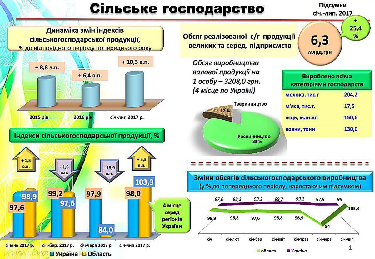 Николаевщина по объемам сельхозпроизводства оказалась на четвертом месте в Украине, фото-1