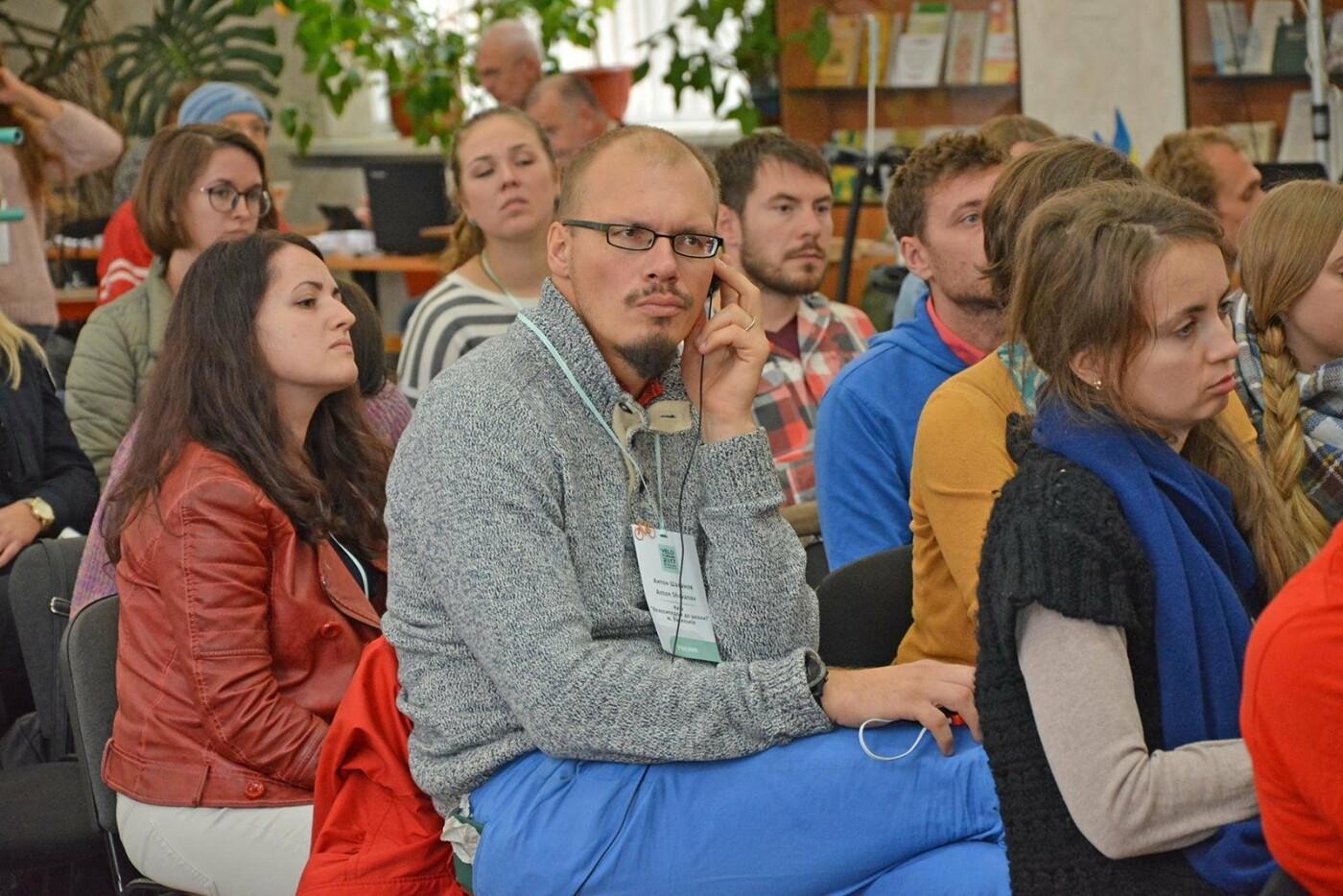 В Николаеве презентовали социальную сеть и душевую капсулу для велосипедистов, фото-5