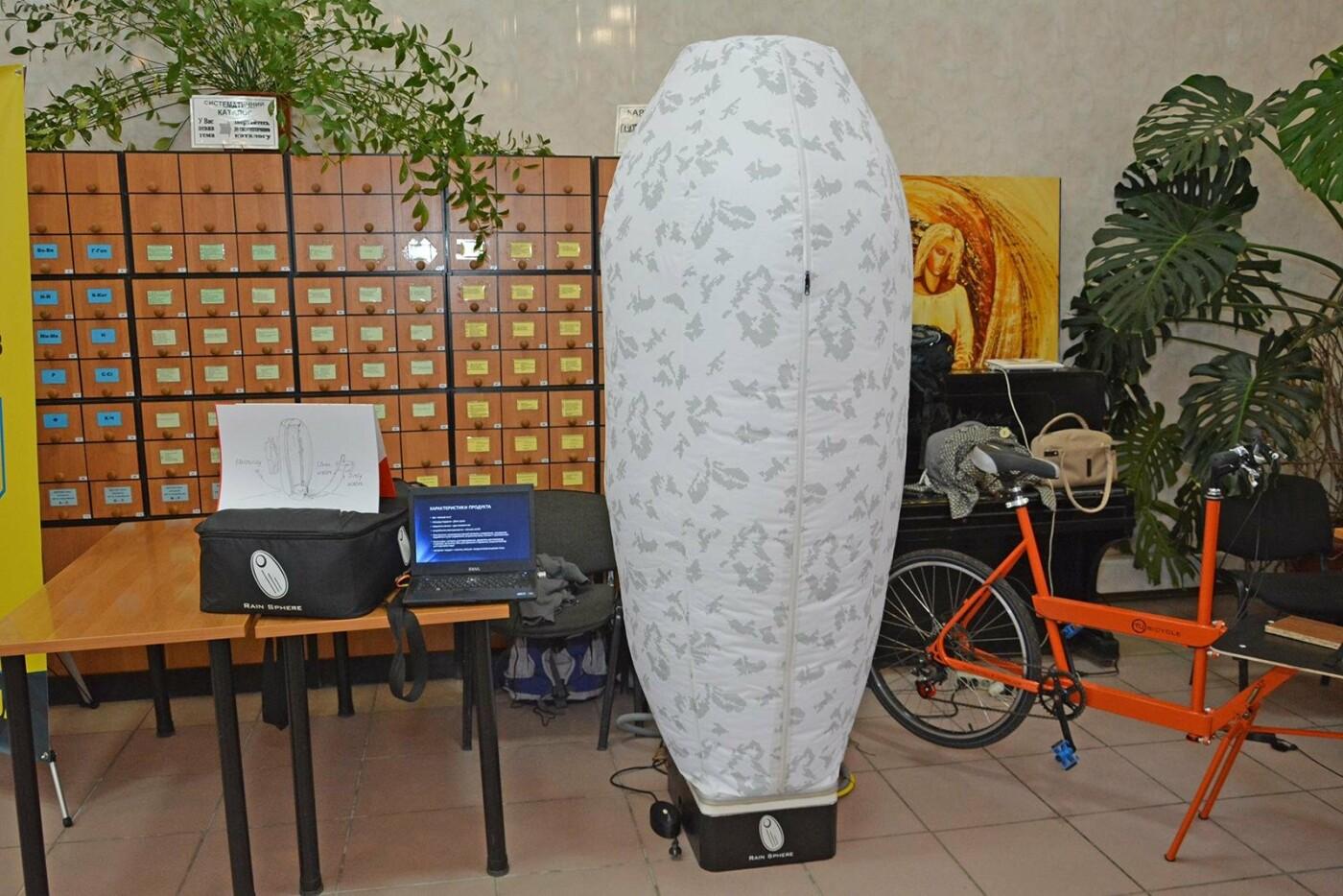 В Николаеве презентовали социальную сеть и душевую капсулу для велосипедистов, фото-9