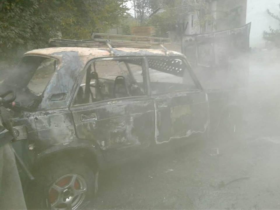 В Николаеве дотла сгорел автомобиль, - ФОТО, фото-2
