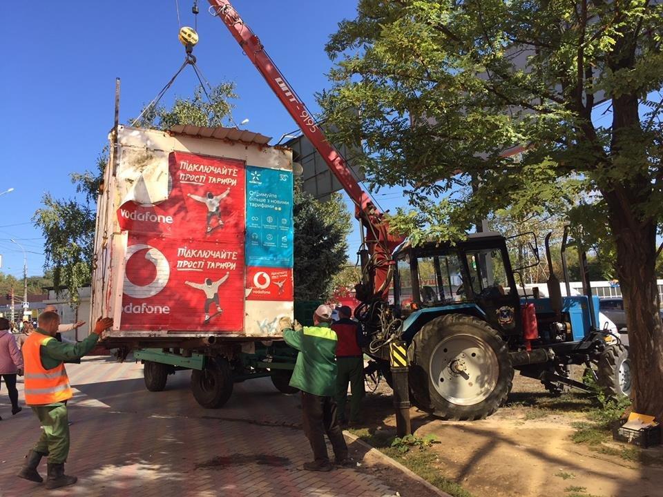 В Николаеве за октябрь месяц демонтировано 20 временных передвижных сооружений (ФОТО) , фото-3