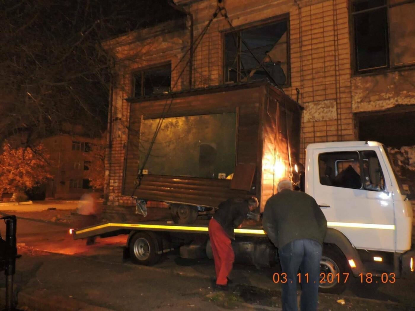 В Николаеве коммунальщики демонтировали незаконные конструкции, - ФОТО, фото-2