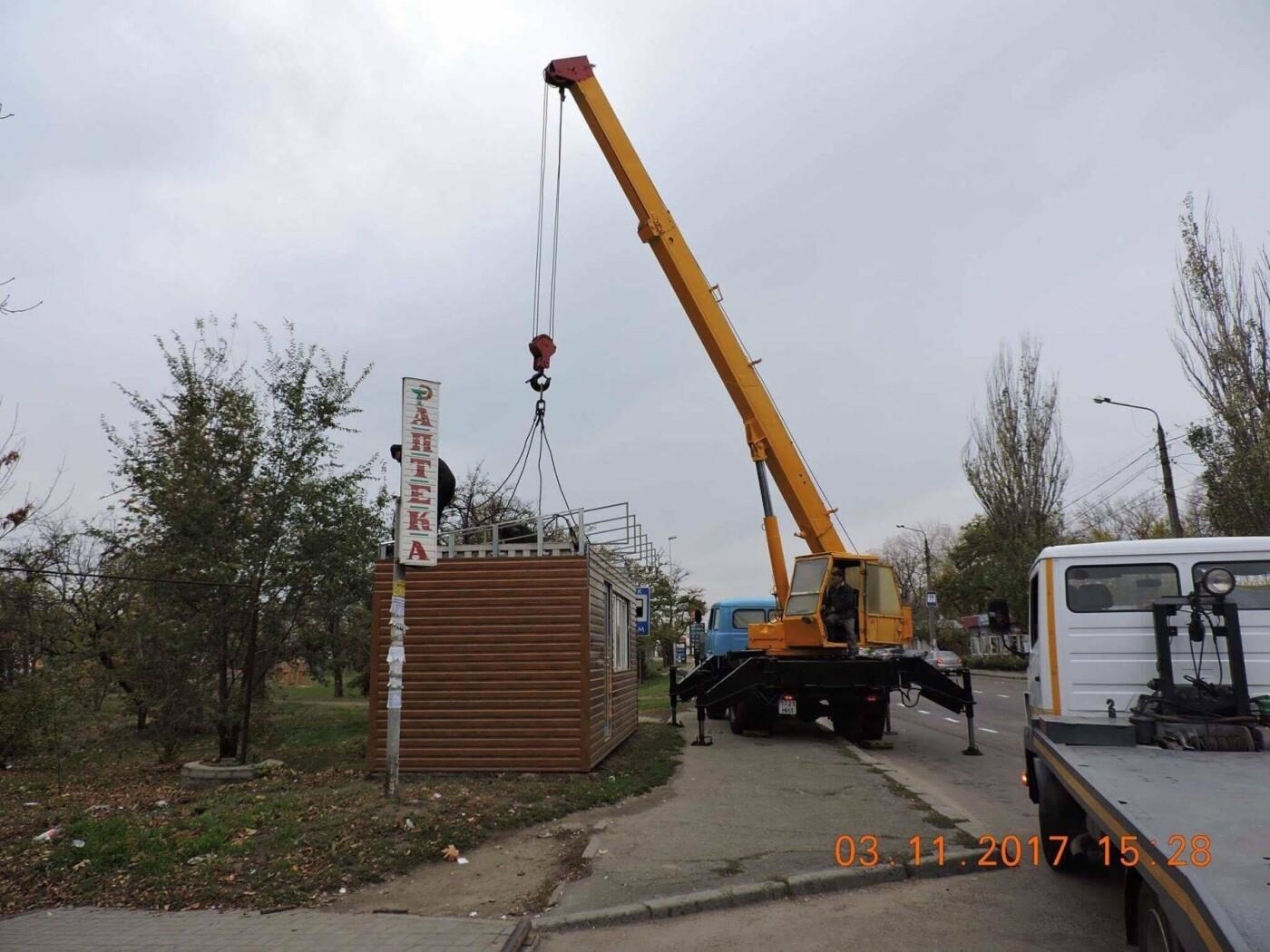 В Николаеве коммунальщики демонтировали незаконные конструкции, - ФОТО, фото-3