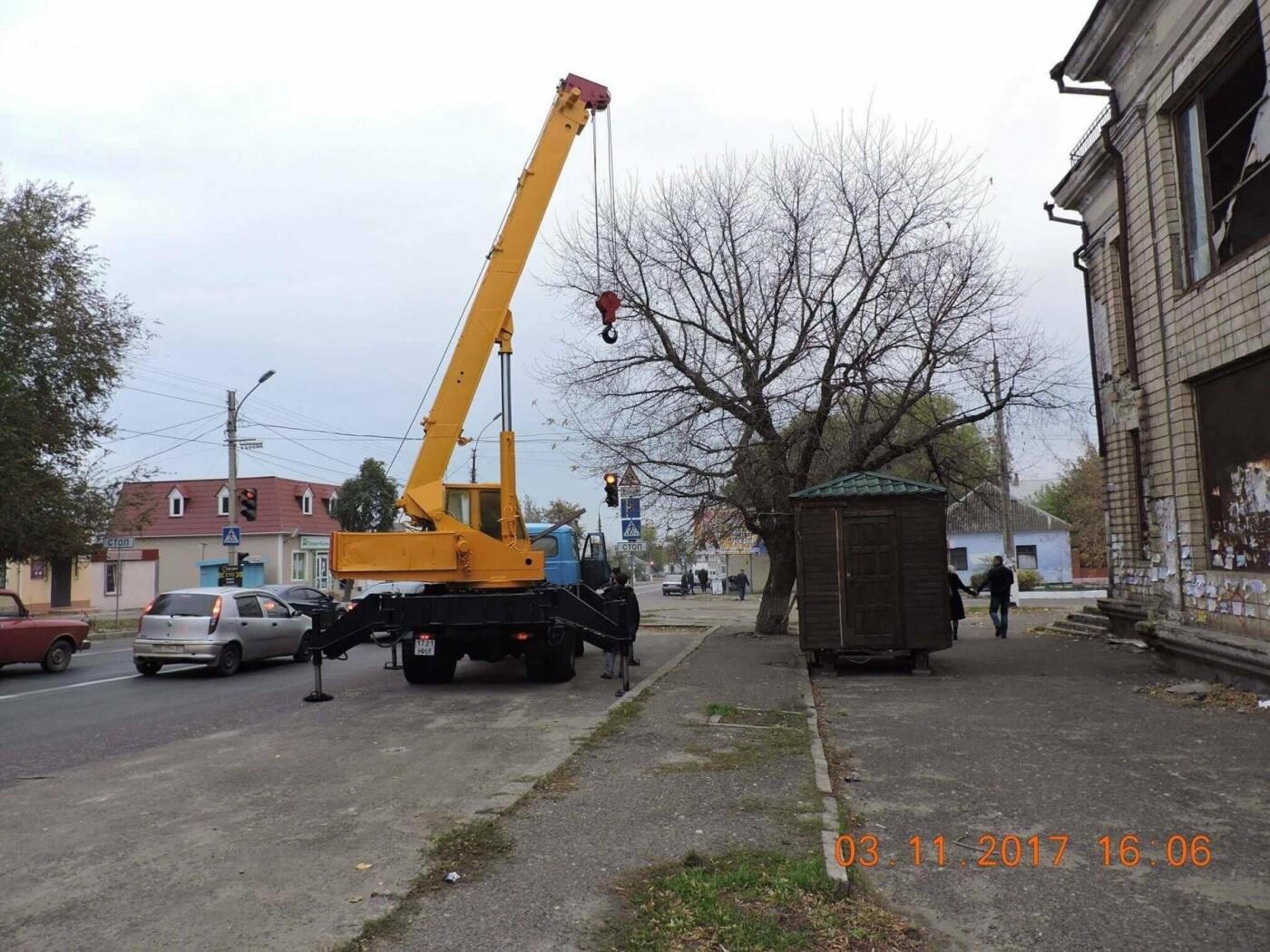 В Николаеве коммунальщики демонтировали незаконные конструкции, - ФОТО, фото-5